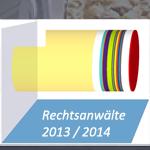 Rechtsanwälte 2013/2014 - Anteil Fachanwälte